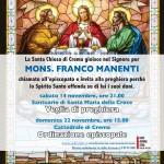 Locandina ordinazione episcopale don Franco Manenti