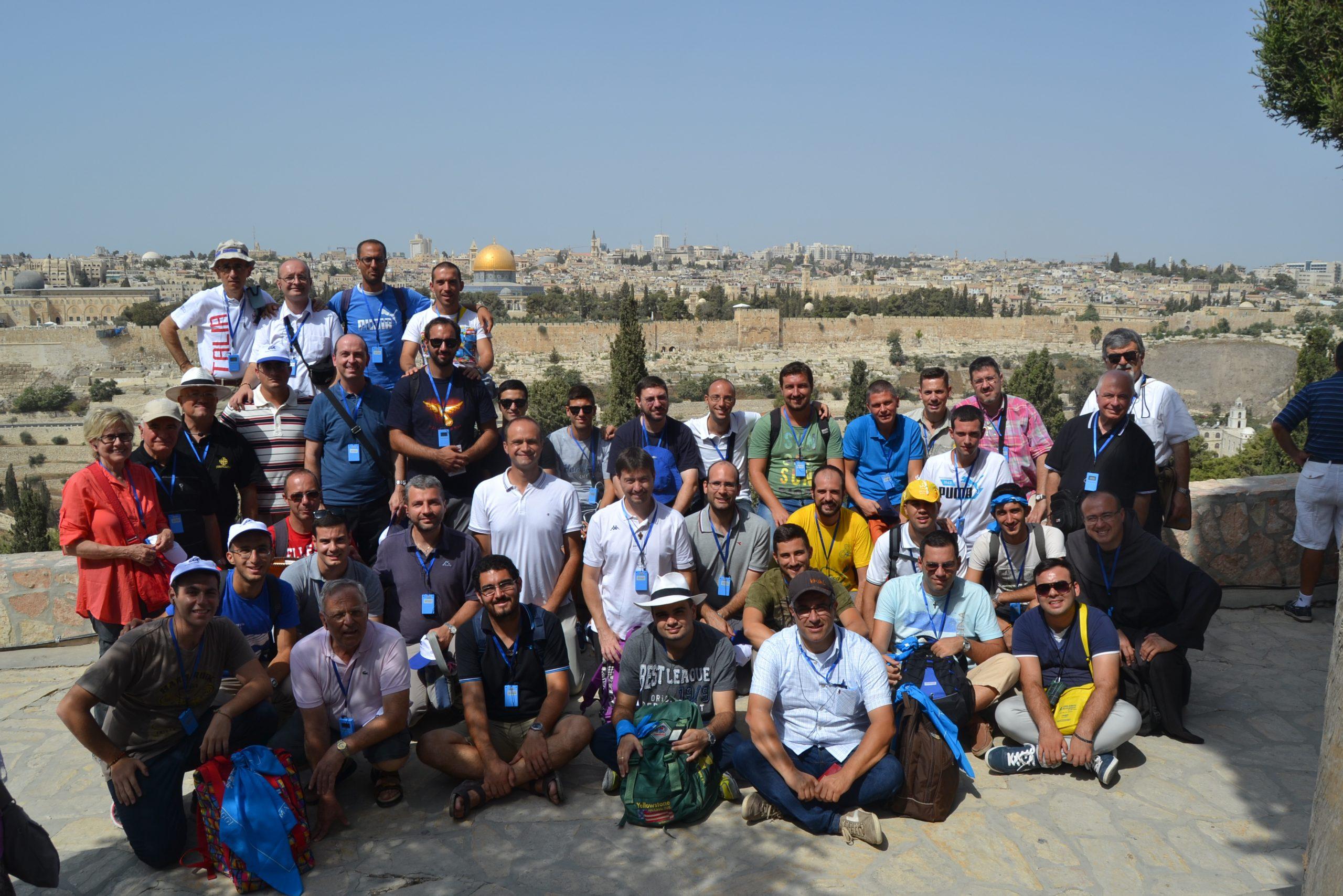 Seminaristi marchigiani in Terra Santa