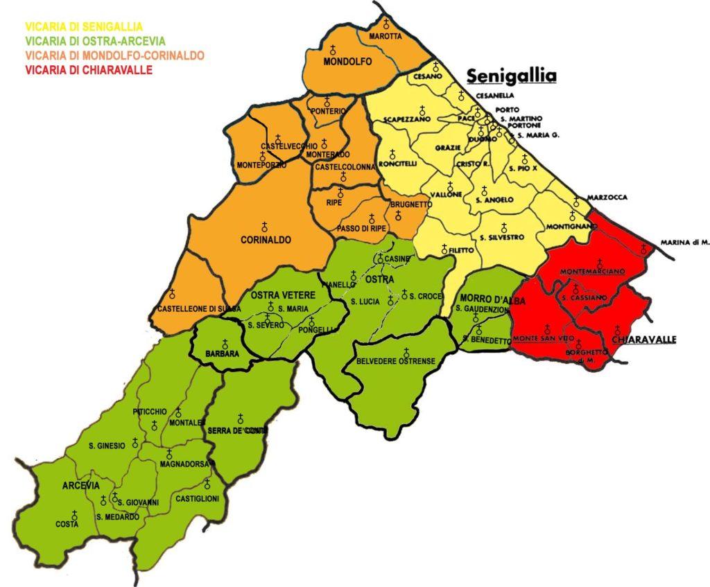 Cartina Italia Senigallia.Nuove Disposizioni Per Emergenza Covid 19 Nella Diocesi Di Senigallia 4 Marzo 2020 Diocesi Di Senigallia