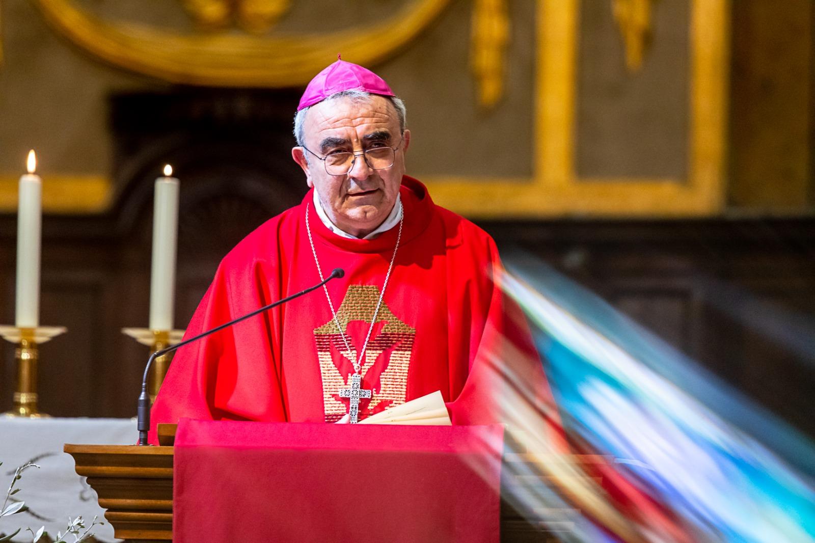 Pasqua 2020. Messaggio del Vescovo Franco al clero diocesano