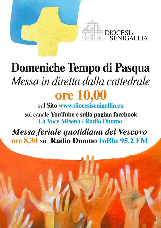 Domeniche del Tempo di Pasqua 2020 – Messa in diretta alle ore 10.00 dalla Cattedrale di Senigallia