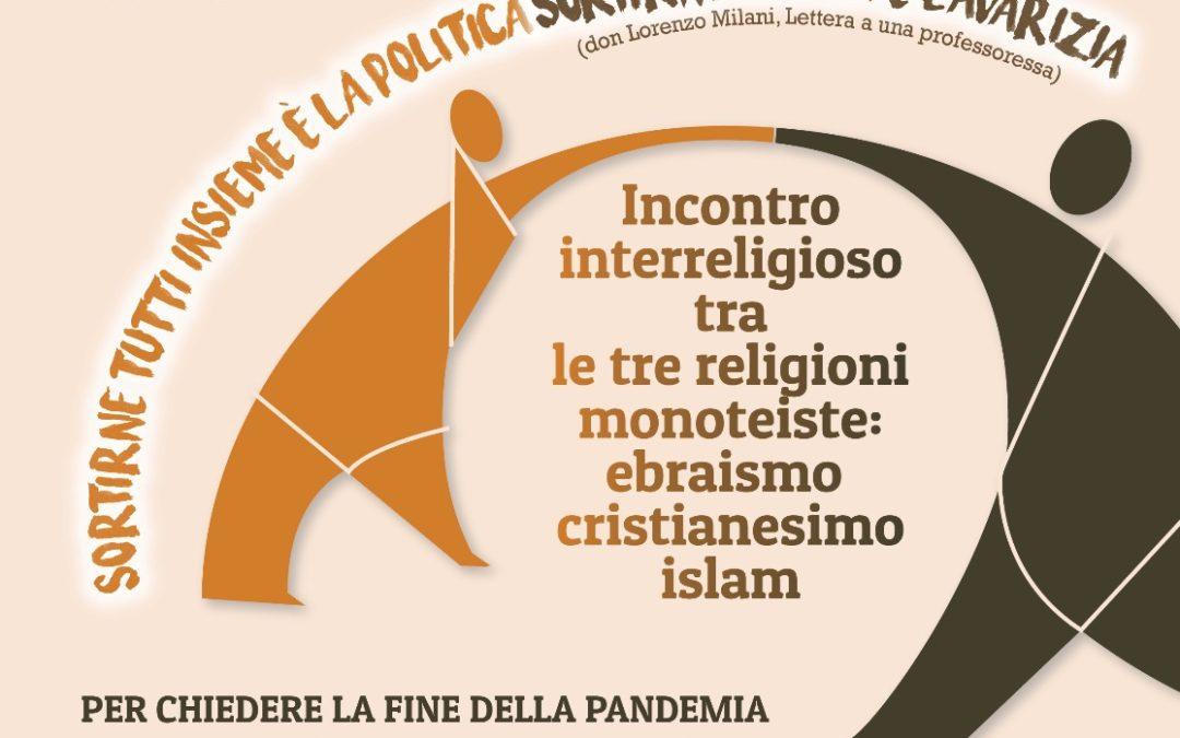 Incontro interreligioso tra le religioni monoteiste – 14 maggio 2020