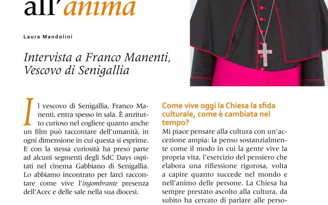 Il cinema: un'emulsione che parla all'anima. Intervista al Vescovo di Senigallia Franco Manenti