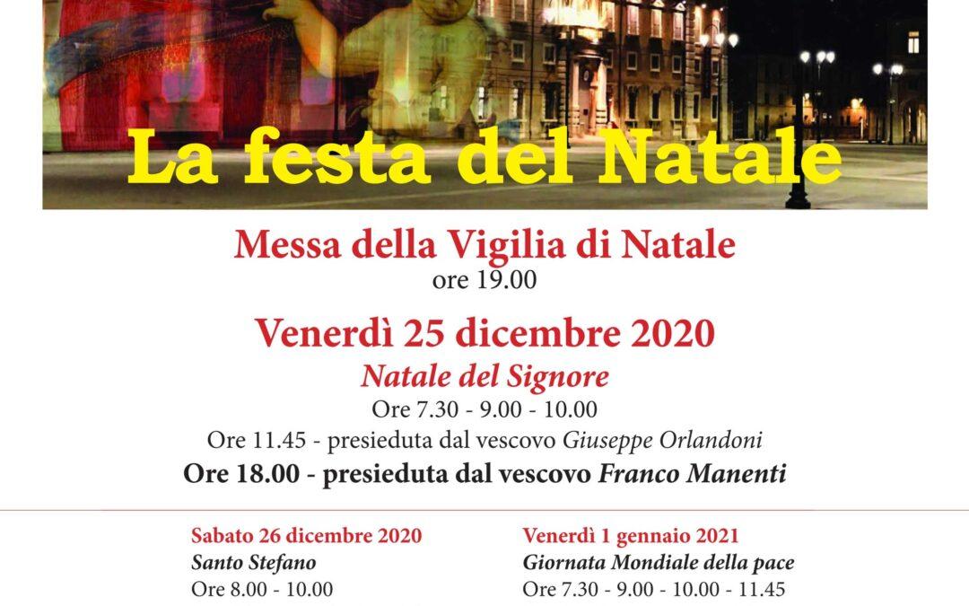 Natale 2020 in Cattedrale – Tutti gli orari delle celebrazioni