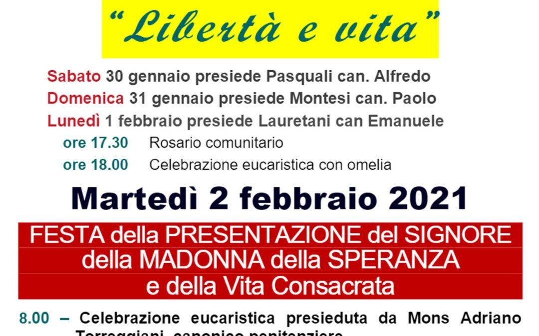 Madonna della Speranza – 2 Febbraio 2021