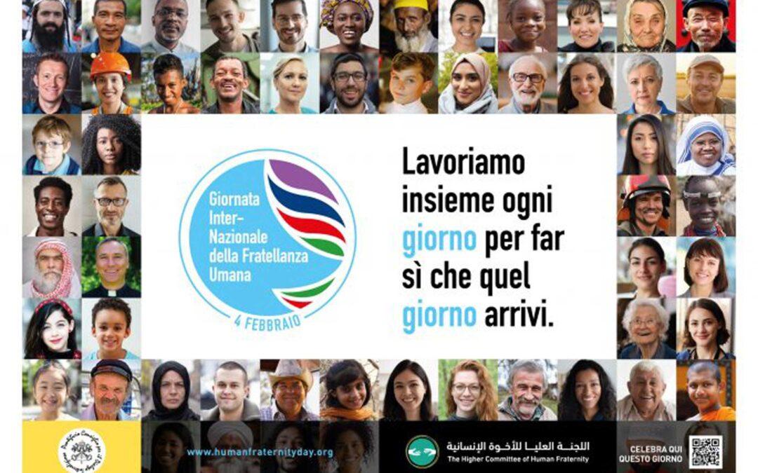 Papa Francesco e la prima edizione della Giornata internazionale della Fratellanza umana: il 4 febbraio 2021 diretta web
