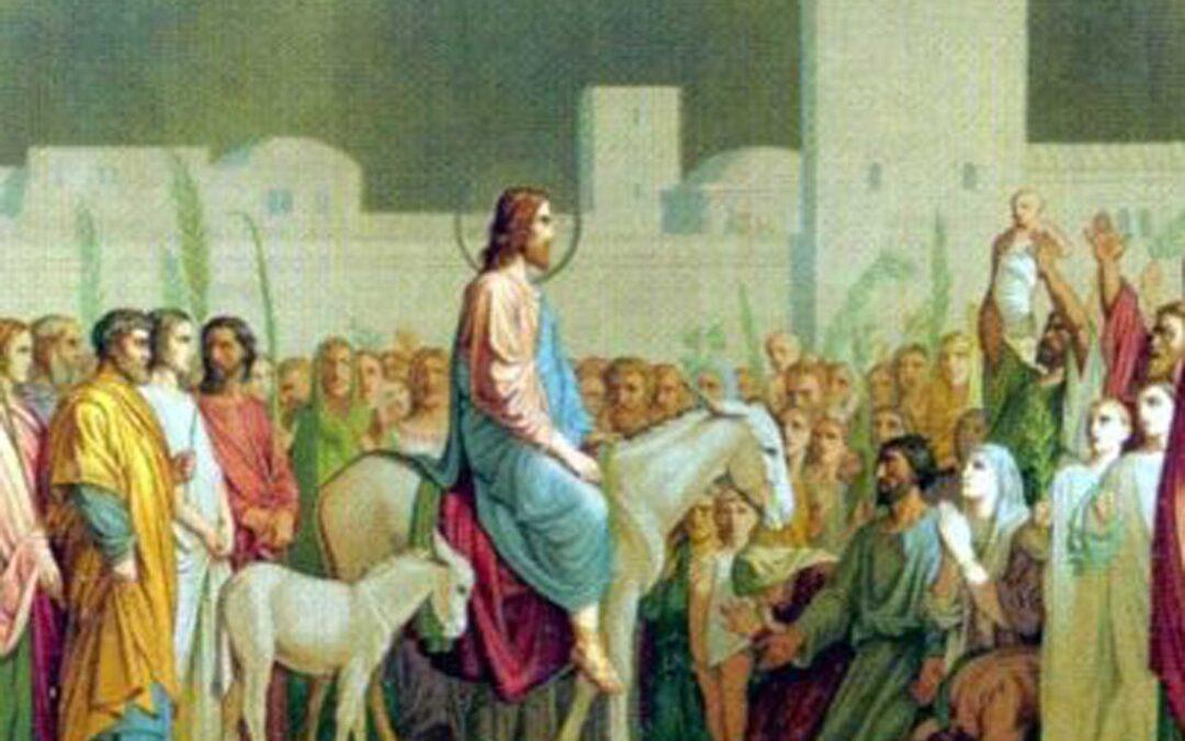 Preghiera in famiglia domenica 28 marzo 2021 – domenica delle Palme